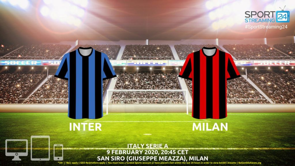 Thumbnail image for Inter vs Milan Live Stream* | Serie A Italy