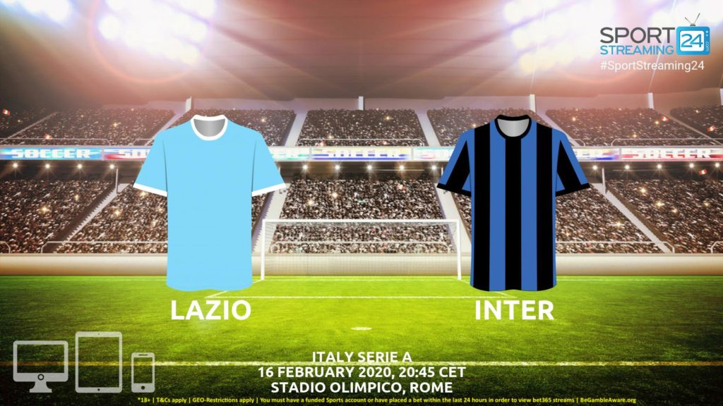 Thumbnail image for Lazio vs Inter Live Stream* | Serie A Italia