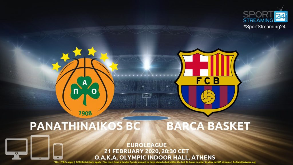 Thumbnail image for Panathinaikos v Barcelona Live Stream | Euroleague