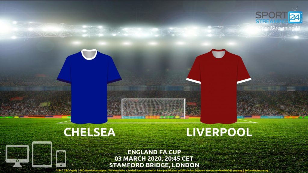 Thumbnail image for Chelsea v Liverpool Live Stream* | FA Cup England