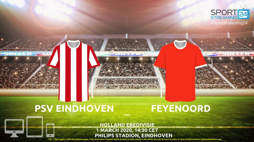 Thumbnail image for PSV v Feyenoord Live Stream* | Eredivisie Holland