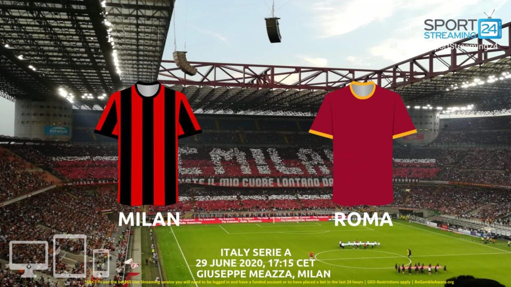 Thumbnail image for Milan v Roma Live Stream* | Serie A Italy