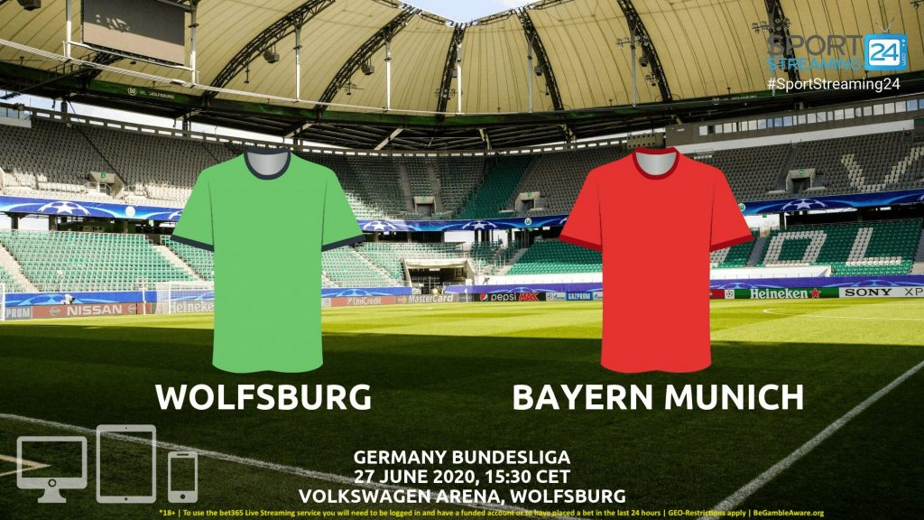 Thumbnail image for Wolfsburg v Bayern Munich Live Stream* | Bundesliga Germany