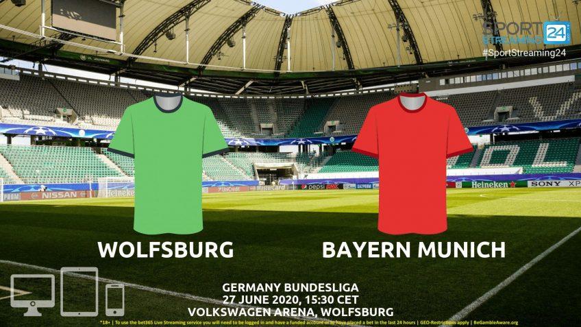 Wolfsburg Live Stream