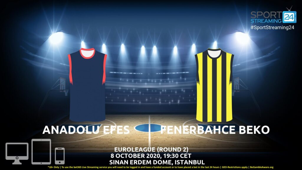 Thumbnail image for Anadolu Efes v Fenerbahce Live Stream | Euroleague