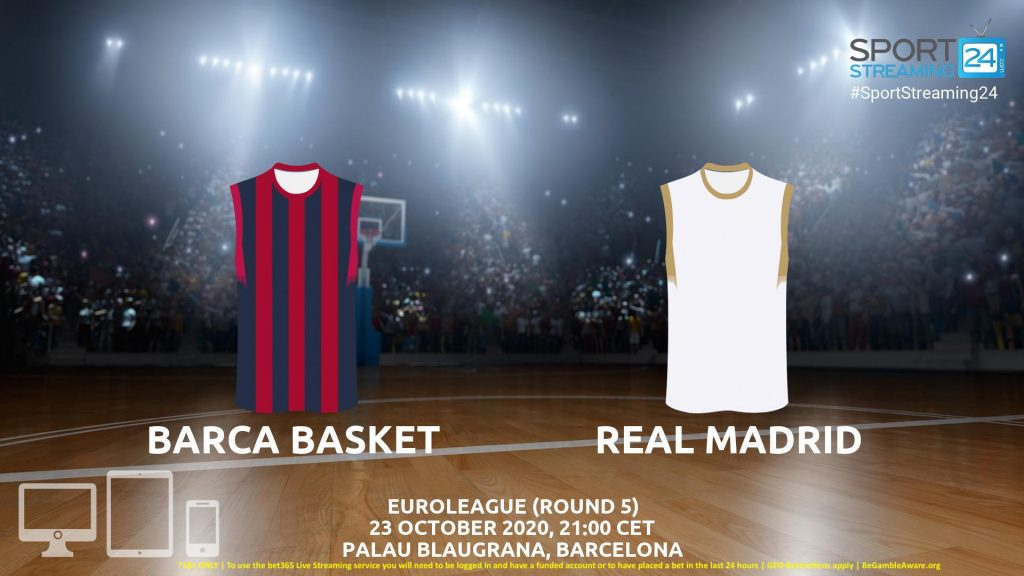 Thumbnail image for Barcelona v Real Madrid Live Stream | Euroleague