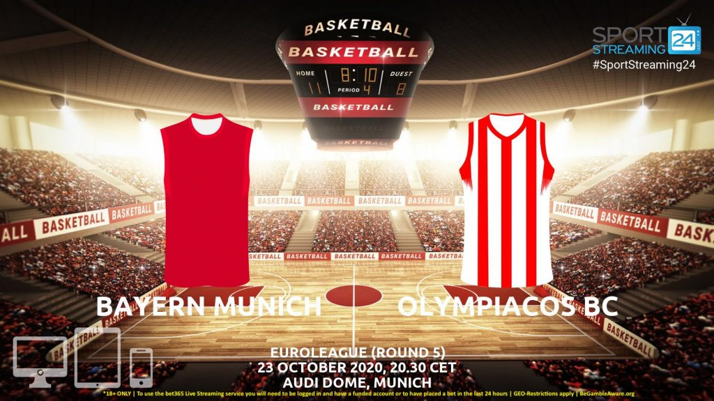 Thumbnail image for Bayern Munich v Olympiacos Live Stream | Euroleague