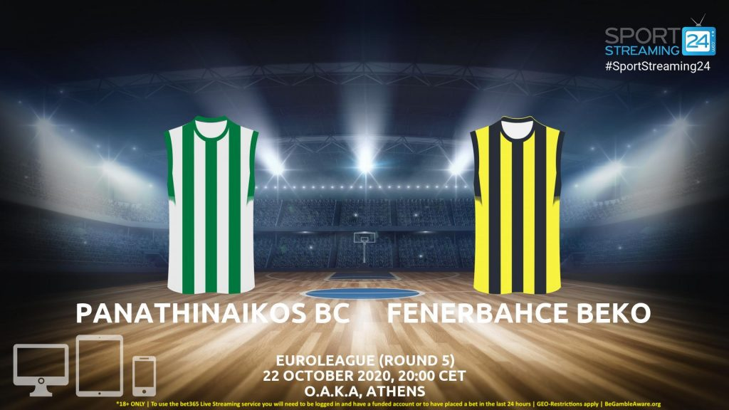 Thumbnail image for Panathinaikos v Fenerbahce Live Stream | Euroleague