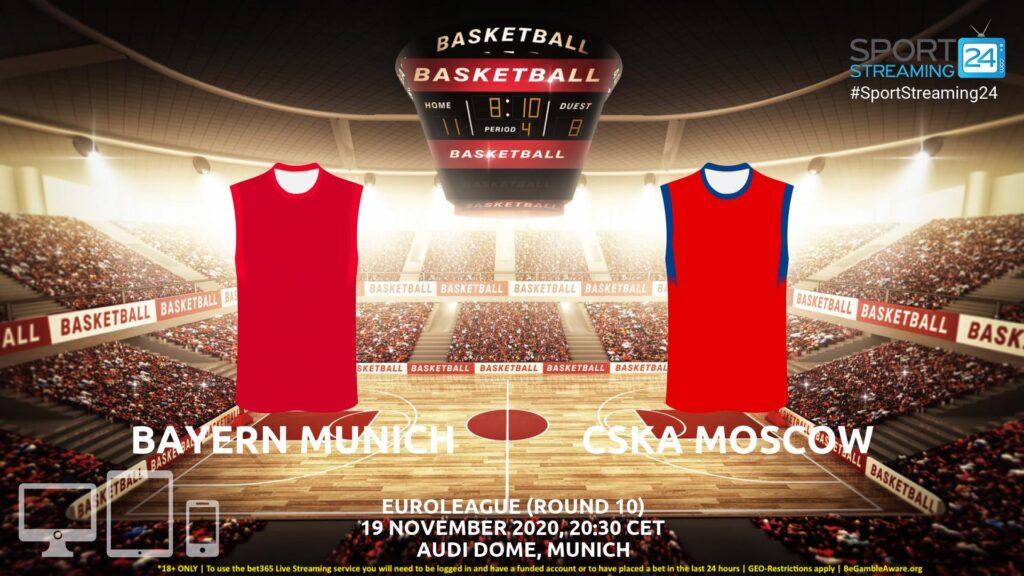 Thumbnail image for Bayern Munich v CSKA Moscow Live Stream | Euroleague