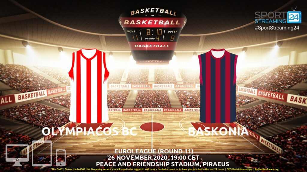 Thumbnail image for Olympiacos v Baskonia Live Stream | Euroleague