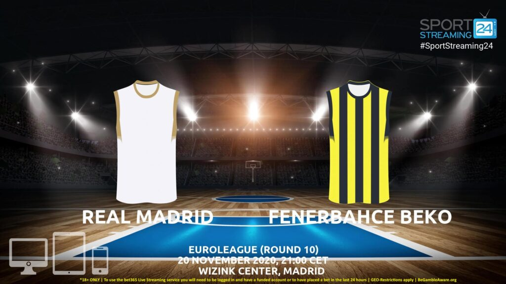 Thumbnail image for Real Madrid v Fenerbahce Live Stream | Euroleague