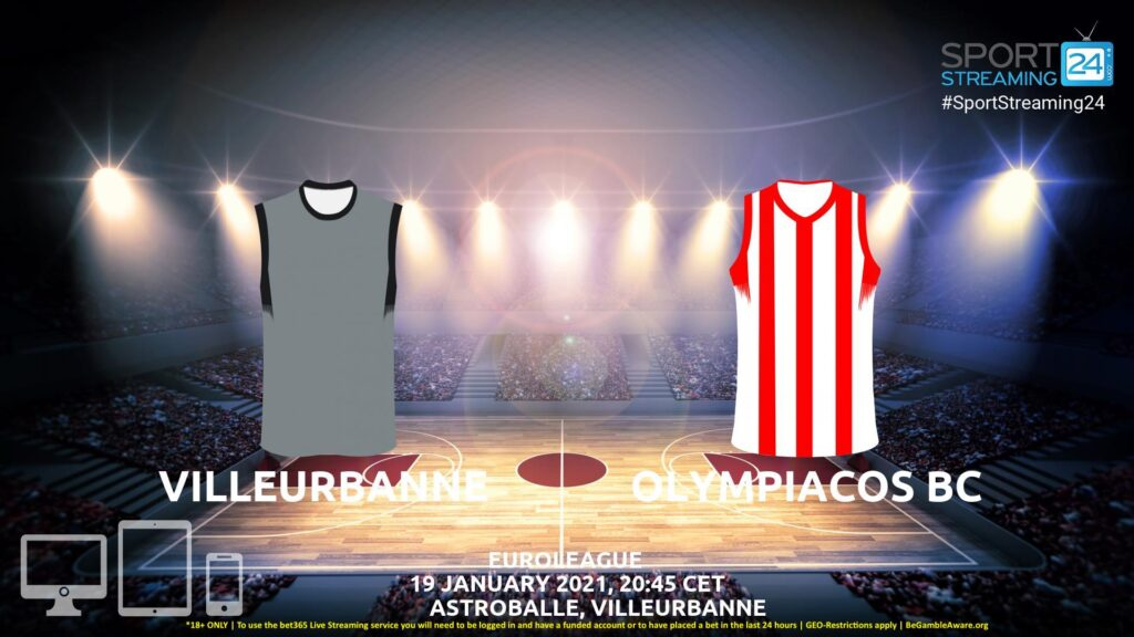 Thumbnail image for Villeurbanne v Olympiacos Live Stream | Euroleague