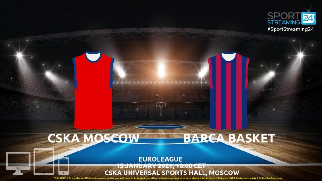 Thumbnail image for CSKA Moscow v Barcelona Live Stream | Euroleague