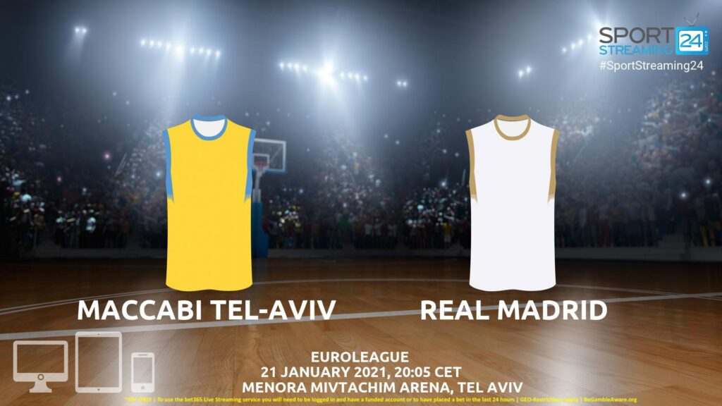 Thumbnail image for Maccabi v Real Madrid Live Stream | Euroleague