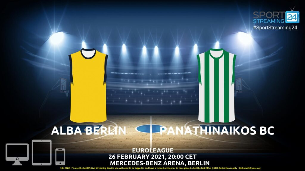 Thumbnail image for Alba Berlin v Panathinaikos Live Stream | Euroleague