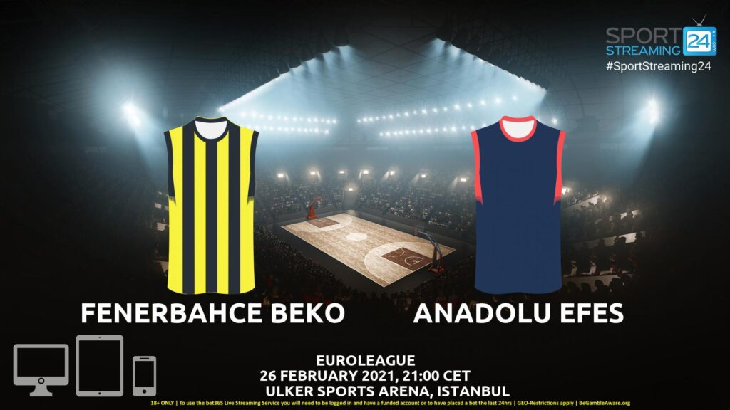 Thumbnail image for Fenerbahce v Anadolu Efes Live Stream | Euroleague