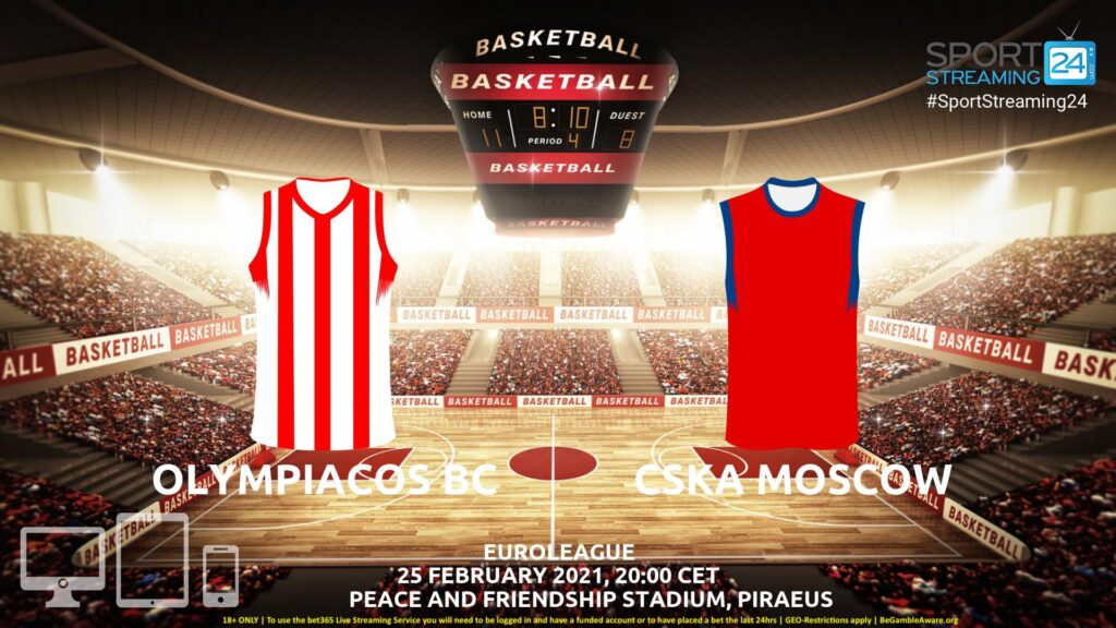 Thumbnail image for Olympiacos v CSKA Moscow Live Stream | Euroleague