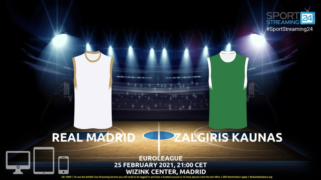 Thumbnail image for Real Madrid v Zalgiris Kaunas Live Stream | Euroleague