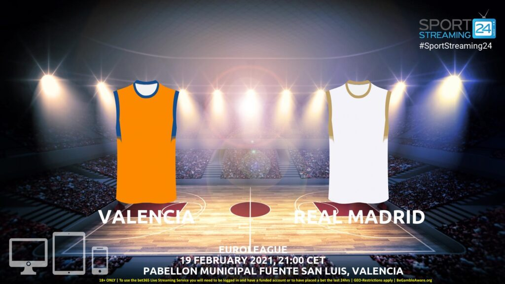 Thumbnail image for Valencia v Real Madrid Live Stream | Euroleague