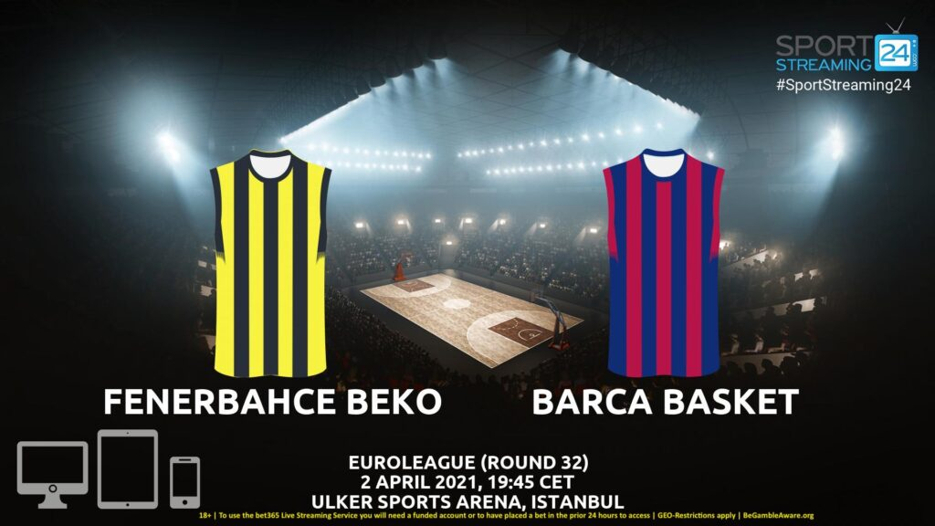 Thumbnail image for Fenerbahce – Barcelona Live Stream | Euroleague