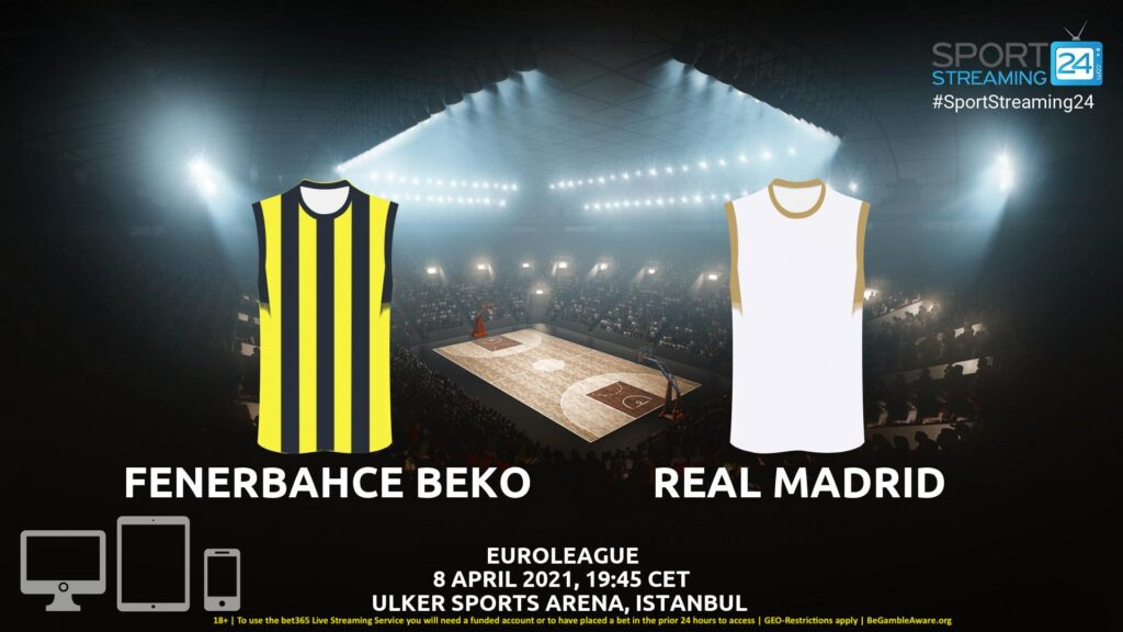 Thumbnail image for Fenerbahce – Real Madrid Live Stream | Euroleague