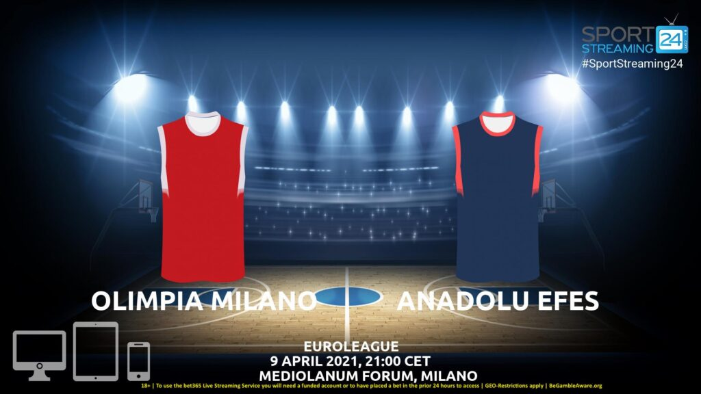 Thumbnail image for Olimpia Milano – Anadolu Efes Live Stream | Euroleague
