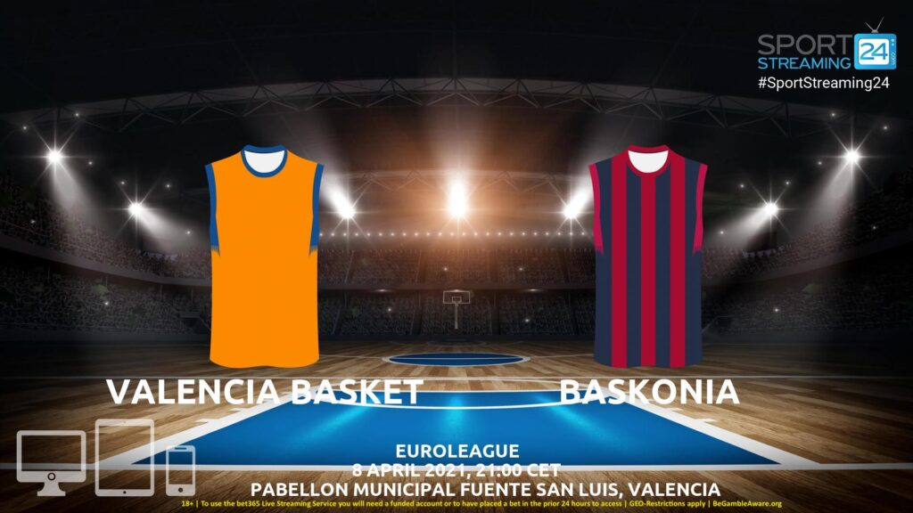 Thumbnail image for Valencia – Baskonia Live Stream | Euroleague