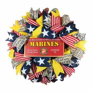 US Marine Wreath