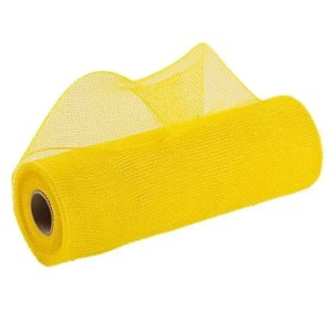 Yellow Deco Mesh