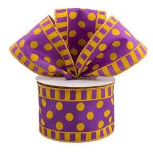 Purple and Gold Ribbon
