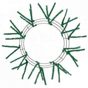 Green Wire Wreath Form