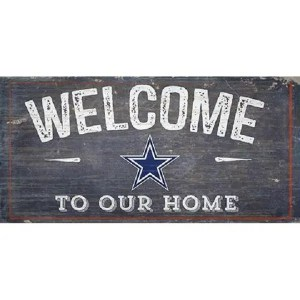 Dallas Cowboys Welcome Sign