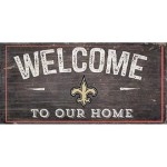 New Orleans Saints Welcome Sign