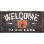 Auburn Tigers Welcome Sign