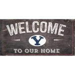 BYU Welcome Sign