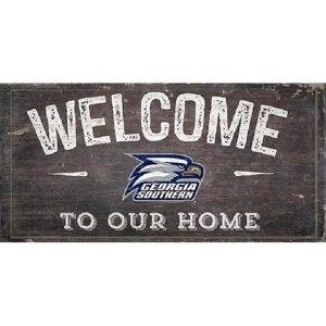 Georgia Southern Welcome Sign