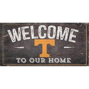 Tennessee Vols Welcome Sign