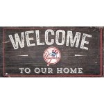 Yankees Welcome Sign