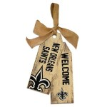 New Orleans Saints Tag Sign