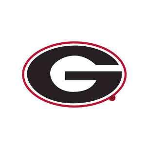 Georgia Bulldogs Logo Sign