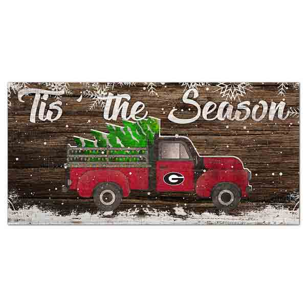 Georgia Christmas Truck Sign