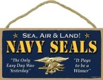 US Navy Seals Sign