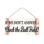 Baseball Sign