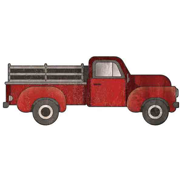Red Truck Sign