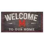 Maryland Terrapins Welcome Sign