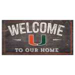 Miami Hurricanes Welcome Sign