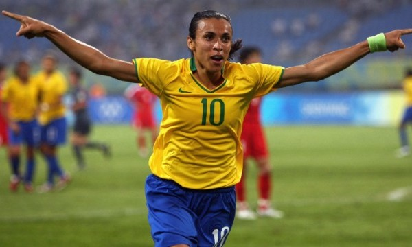 Best Female Soccer Players Marta