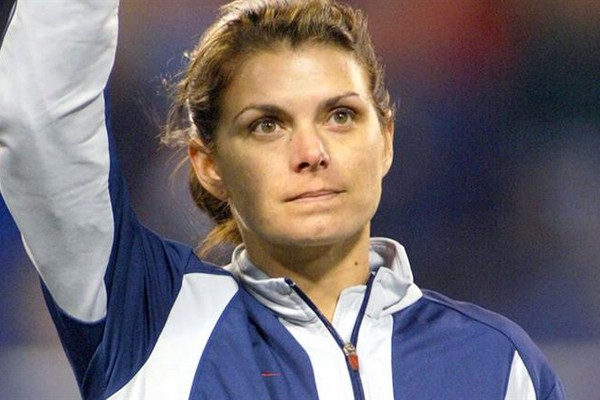 Mia Hamm best female soccer players