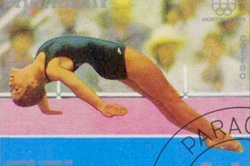 Jennifer Chandler 1976 Paraguay stamp