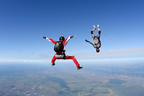 Unusual Sports Skydiving